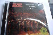 Illapu  En Vivo Theatre de la Ville live concert new sealed Chile folk cd