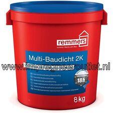 Remmers Multi-Baudicht 2K 8,3 kg flexibele afdichtingscoating tot 10m waterkolom