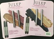 2 Sets of Julep Eyeshadow 101 duo Creme to Powder Eyeshadow
