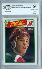 BRENDAN SHANAHAN 1988-89 TOPPS RC ROOKIE #122 BCCG 9