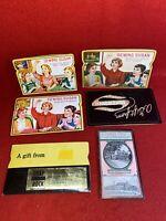 Lot Of 6 Vintage Needle Books 3 Sewing Susan Japan Eau Claire Oil Ameri Yeomen