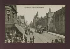 Yorkshire Yorks MIDDLESBROUGH Corporation Rd tram #38 c1900/10s? PPC