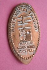 Wyler Aerial Tramway elongated penny USA cent Franklin Mountains souvenir coin