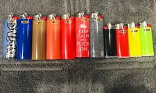 Bic Lighter, 7 Classic Size And 4 Mini. Assorted Colors