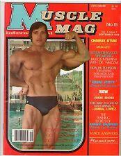 MUSCLEMAG bodybuilding magazine/Mr Olympia ARNOLD SCHWARZENEGGER 9-79 #15