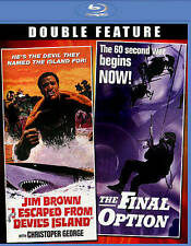 I Escaped from Devils Island/The Final Option (Blu-ray Disc, 2014)