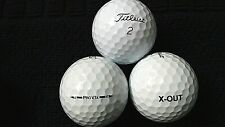 """20 TITLEIST  """"PRO V1X"""" - """"X-OUT"""" - PRINTED ON BALL - """"ANY"""" MODEL - """"PEARL/A"""""""