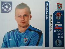 Panini 134 Marek Sapara Trabzonspor UEFA CL 2011/12
