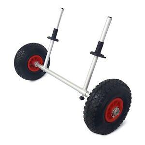 Bluewave Kayak Trolley - Adjustable Scupper Cart Heavy Duty Aluminium Big Wheels