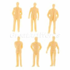 Various Poses People Sitting Standing Figures 50pcs Train Scenery DIY 1:50 Scale