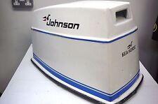 Johnson 60hp hors-bord moteur complet capuche-démarrage électrique - 3 cylindres années 1970