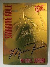 1994-00 Bleachers 23 Karat Gold #NNO Michael Jordan / Ultra Starring Role
