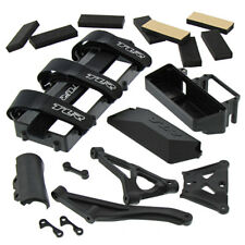 Losi 8IGHT-E Buggy 1/8: Battery Tray, Front Bumper, Chassis Brace, Servo Mount