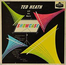 Ted Heath Showcase London UK Red 1950s 3A/3A LP NM Vinyl Dance Band Mood Music