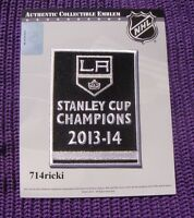 Official 2013 2014 Stanley Cup Final Finals Champions Los Angeles Kings Patch