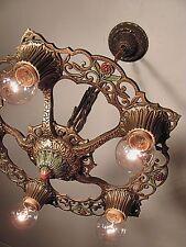 PAIR AVAILABLE! Classic Antique 1930s Virden Winthrop Light Fixture - RESTORED!