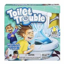 Hot Toilet Trouble Hilarious Game With Flush Sound Effects Kids Children Toys UK