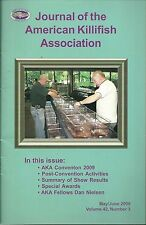 Journal of the American Killifish Association May/June 2009
