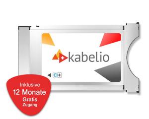 Kabelio CI+ Zugangsmodul inkl. 12 Monate Gratis-Zugang für SAT Swiss, Austria TV