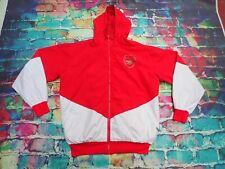 O32 Arsenal Training Top Jacket Hooded Waterproof Mens Small
