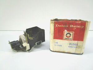 NOS 1968-70 CHEVY CORVETTE HEADLIGHT SWITCH D1566 1995166 NEW DELCO NO LID