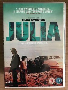 Julia DVD 2008 Kidnap / Crime Thriller  Movie with Tilda Swinton