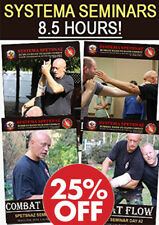 Russian Martial Art Systema Training - 8.5 Hours of Hand-to-Hand Combat Dvds