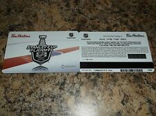 2016 TIM HORTONS NHL STANLEY CUP PLAYOFFS GIFT CARD TIM CARD - $0 BALANCE