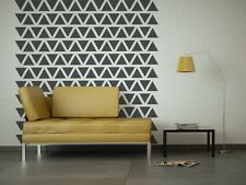 Triangle Wall Decal, Triangle Decals, Nursery Wall Decal, Geometric Wall Decal,