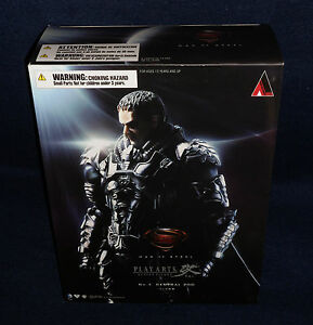 Man of Steel GENERAL ZOD Play Arts Kai Action Figure Square Enix Superman