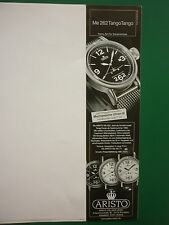 2006 PUB MONTRE WATCH FLIEGERUHREN ARISTO PFORZHEIM ME 262 TANGO TANGO GERMAN AD