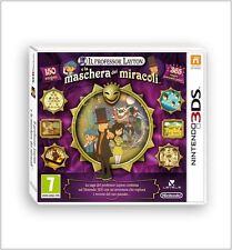 IL PROFESSOR LAYTON E LA MASCHERA DEI MIRACOLI GIOCO NUOVO 3DS ED ITA 3DS022323