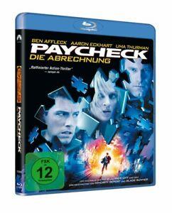 Paycheck - Die Abrechnung [Blu-ray/NEU/OVP] nach Philip K. Dick von John Woo