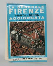 Italy - Vintage Di Lauro 1:15,000 City Map - Florence / Firenze