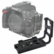 Quick Release Plate/Camera Bracket Grip fr Tripod Ballhead&Nikon D300S/D300/D200