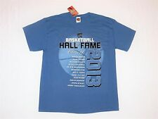 Basketball Hall of Fame Class of 2013 Collectors Shirt L NEW Tarkanian GP Pitino