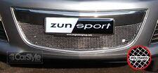 ZunSport Mazda CX7 2010-2012 Polished Steel Mesh Lower Grille