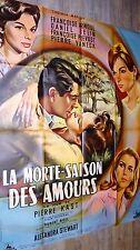 LA MORTE SAISON DES AMOURS Françoise Arnoul  affiche cinema 1960