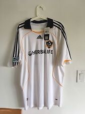 Sale! 2008-09 La Galaxy Home Ss #23 Beckham Shirt Size L Or Xl New W/Tags Defect