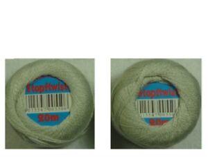 6 7/12x65 7/12ft Stuffing Yarn Darning Twist Silver-Grey 100% Cotton 8-fach
