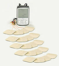 Digital TENS Dual TENS Machine + Extra x16 Pack (Total x20) + FREE Shipping