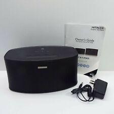 Hitachi W100 Wi-Fi Smart Wireless Speaker Black (LOOK DESCRIPTION) J700