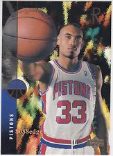 1994-95 UPPER DECK ROOKIE CARD: GRANT HILL #157 DETROIT PISTONS RC DUKE ALL-STAR