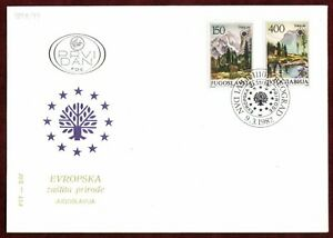 FDC 1987 Europe Nature Preservation Society Yugoslavia