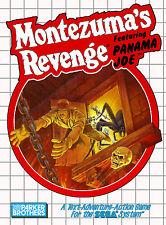 Montezuma's revenge SEGA MASTER SYSTEM encadrée Imprimer (man cave Photo Poster)