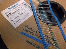 Phillips SFR25 1.8k 1/4 watt 5% Carbon Film Resistors 100pcs