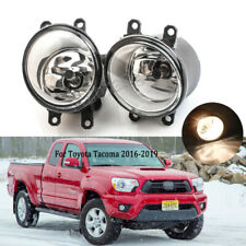 Fog Light For Toyota Tacoma 2016 17 2018 2019 Lamp Driving w/ H11 Halogen Blubs