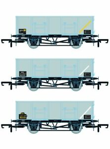 Accurascale ACC1083-MDOD BR 21T COAL21/MDO Mineral Wagon Triple Pack Grey TOPS D