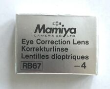 Mamiya RB/RZ -4 correction lens for Prism Finder corrección lente prismensucher