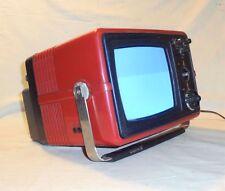 VINTAGE 1980 SHILJALIS TENTO 402D-1S * 5,5'' RUSSIAN TV portable 230V / 12V